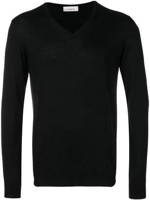 Laneus V-neck lightweight sweater