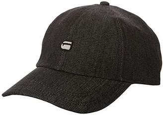 G Star Men's Avernus Baseball Cap (Black 990), One (Size: PC)