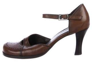 Kenneth Cole Leather Mary Jane Pumps