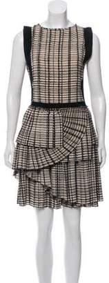 Bottega Veneta Silk Pleated Dress Beige Silk Pleated Dress
