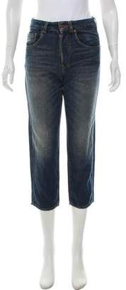 6397 Mid-Rise Straight-Leg Jeans w/ Tags