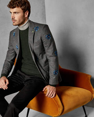 Ted Baker EMLILA Embroidered suit jacket