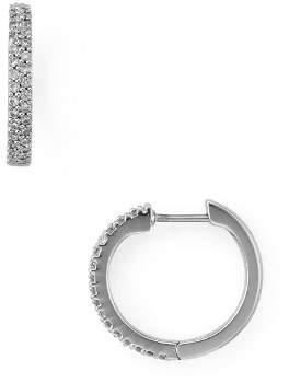Kate Spade Pavé Huggie Hoop Earrings
