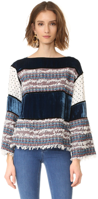 See by Chloe Bell Sleeve Top $480 thestylecure.com