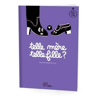 Minus Editions Mother/daugther Like mother, like daughter notebook