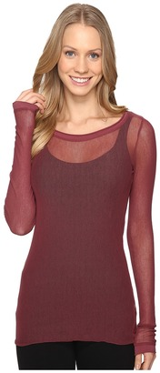 Hard Tail - Long Sleeve Tee Women's T Shirt $80 thestylecure.com