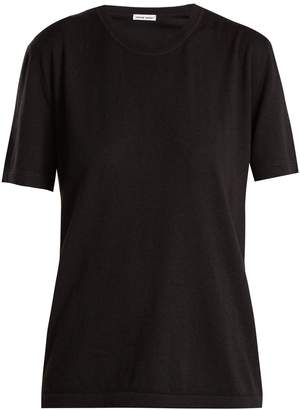 Tomas Maier Short-sleeve cashmere sweater