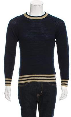 Dries Van Noten Striped Cashmere-Blend Sweater