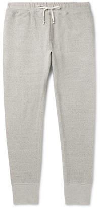 Secondskin Slim-Fit Tapered Mélange Loopback Supima Cotton-Jersey Sweatpants