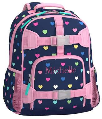 Pottery Barn Kids Mackenzie Navy Multi Heart Lunch Bags