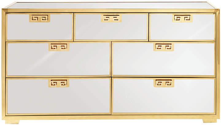 BernhardtBernhardt Continental Mirrored Dresser