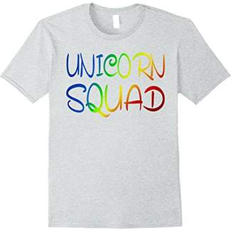 Unicorn Squad T-Shirt Funny Gift Shirt For Unicorn Lovers