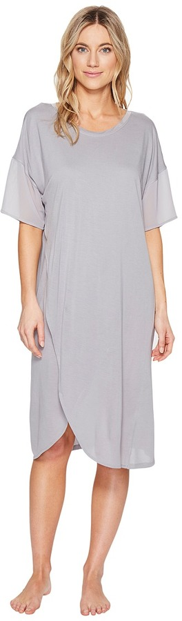DKNYDKNY - Fashion Modal Jersey Short Sleeve Sleepshirt Women's Pajama