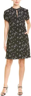 Nanette Lepore Silk A-Line Dress
