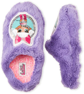 Lol Surprise! (Toddler/Kids Girls) Purple Character Plush Clog Slippers
