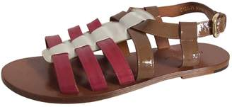 Dolce & Gabbana Gladiator sandals in patent leather.