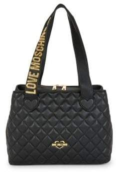 Love Moschino Diamond Quilted Tote