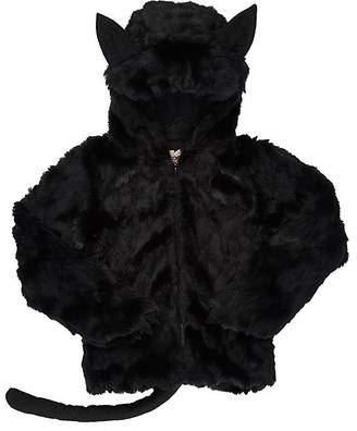 Siaomimi Faux-Fur Cat Sweatshirt