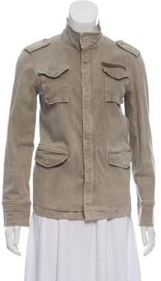 Anine Bing Zip-Up Utility Jacket