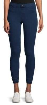 Hue Frayed Hem Skinny Jeans