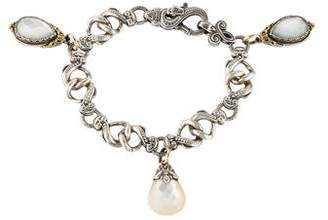 Konstantino Mother of Pearl Charm Bracelet