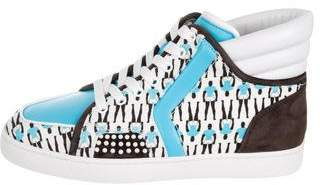 Christian Louboutin SH One Flat Sneakers w/ Tags