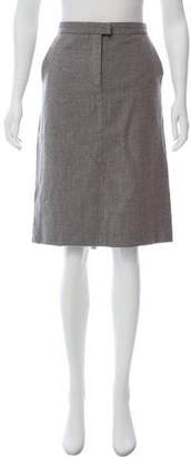 CNC Costume National Wool Knee-Length Skirt