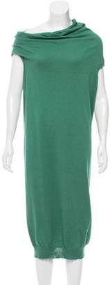 Lanvin Sleeveless Sweater Dress