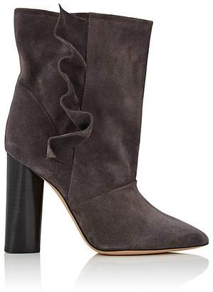 IRO Women's Ruffle Suede Ankle Boots
