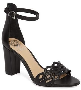 d68a9a752bd Vince Camuto Black Block Heel Women s Sandals - ShopStyle