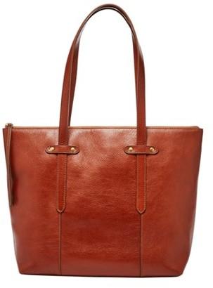 702f3dd4cc0c Fossil Felicity Tote Handbag Medium Brown