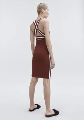 Alexander Wang Plaited Jersey Dress