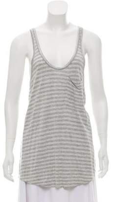 Joie Striped Knit Tank Top