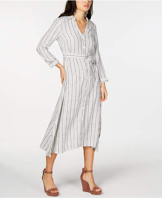 INC International Concepts I.N.C. Striped Shirtdress, Created for Macy's