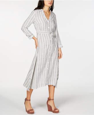 INC International Concepts I.n.c. Striped Shirtdress