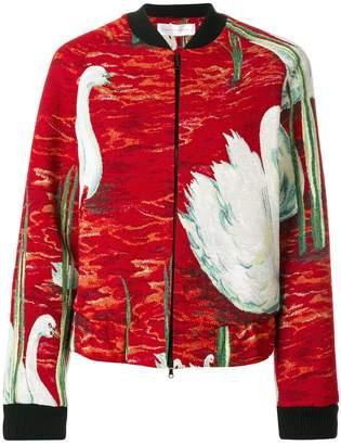 Victoria Beckham Victoria embroidered bomber jacket