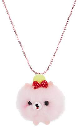 Pop Cutie PomPom Puppy Necklace