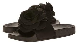 Victoria K Women's Flower Slider Slipper