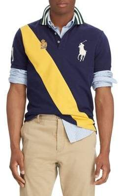 Polo Ralph Lauren Diagonal Stripe Polo Shirt