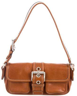MICHAEL Michael Kors Small Leather Buckle Pochette