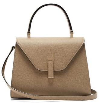 Valextra Iside Mini Leather Bag - Womens - Beige