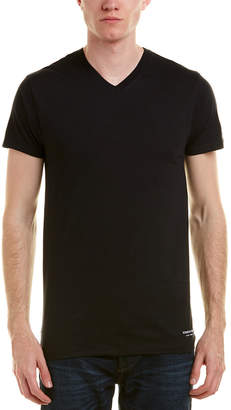 Kenneth Cole New York 3Pk Of V-Neck T-Shirts