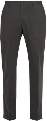Dolce & Gabbana Slim-leg stretch-cotton chino trousers