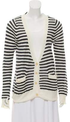 Ulla Johnson Linen Blend Knit Cardigan