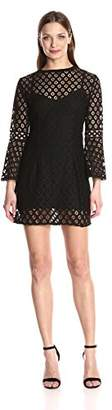 Plenty by Tracy Reese Women's Bell Sleeved Flound Shift Dress