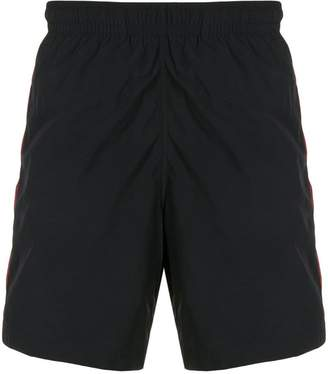 Alexander McQueen side-stripe swim shorts