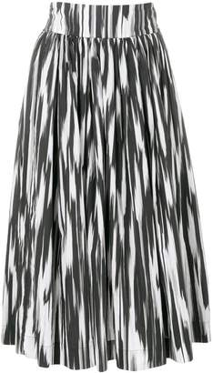 Woolrich printed full skirt