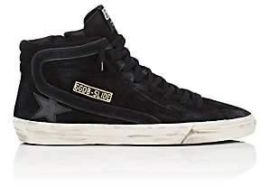 Golden Goose Men's Slide Suede Sneakers - Black