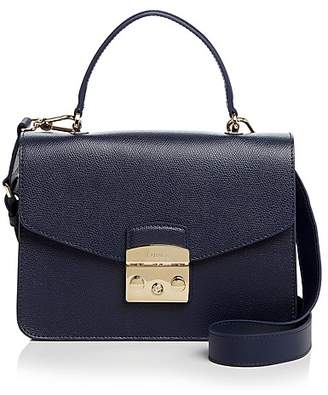 Furla Metropolis Top Handle Small Leather Satchel