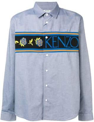 Kenzo floral logo shirt